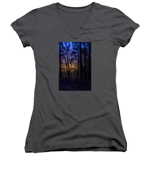 Belfast Through The Trees Part 1 Women's V-Neck (Athletic Fit)
