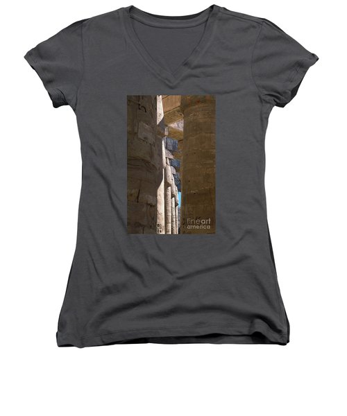 Belief In The Hereafter IIi Women's V-Neck (Athletic Fit)