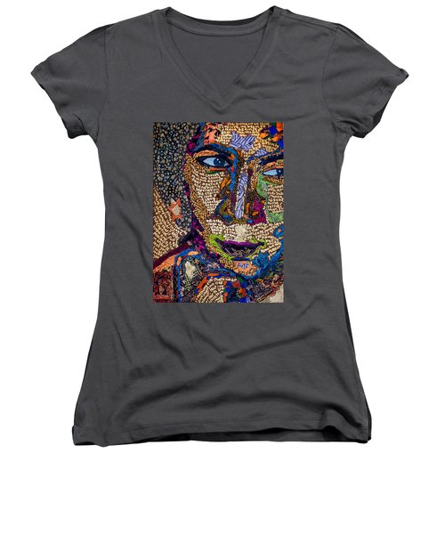 Bell Hooks Unscripted Women's V-Neck (Athletic Fit)