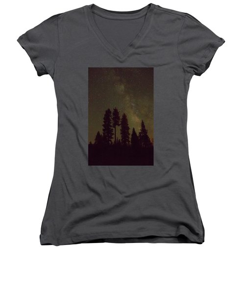 Beneath The Stars Women's V-Neck (Athletic Fit)