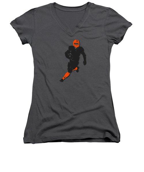 Bengals Player Shirt Women's V-Neck T-Shirt (Junior Cut) by Joe Hamilton