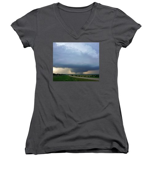 Bennington Tornado - Inception Women's V-Neck T-Shirt