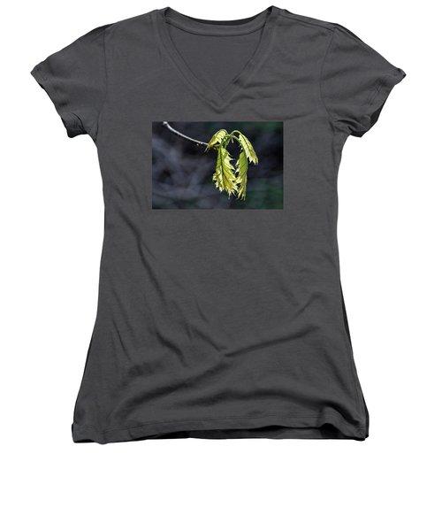 Bent On Growing - Women's V-Neck T-Shirt