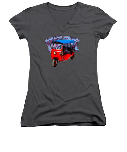 Best First Car For A Millennial Is Tuk-tuk Women's V-Neck