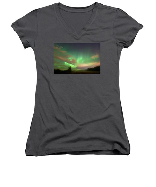 Between Heaven And Earth Women's V-Neck T-Shirt
