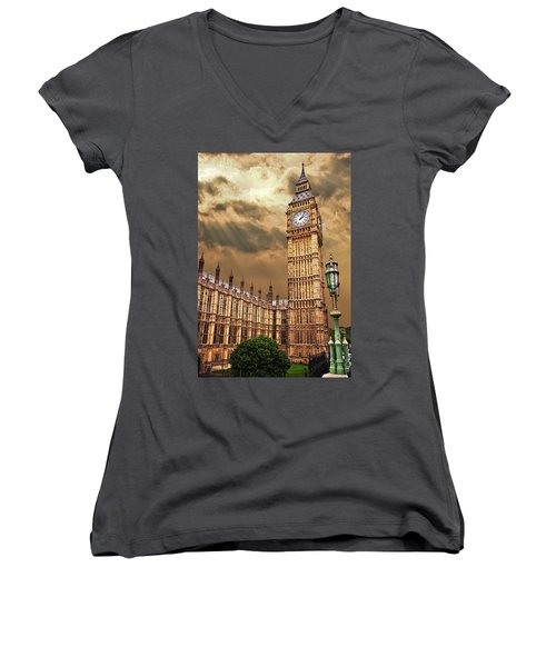 Big Ben's House Women's V-Neck T-Shirt