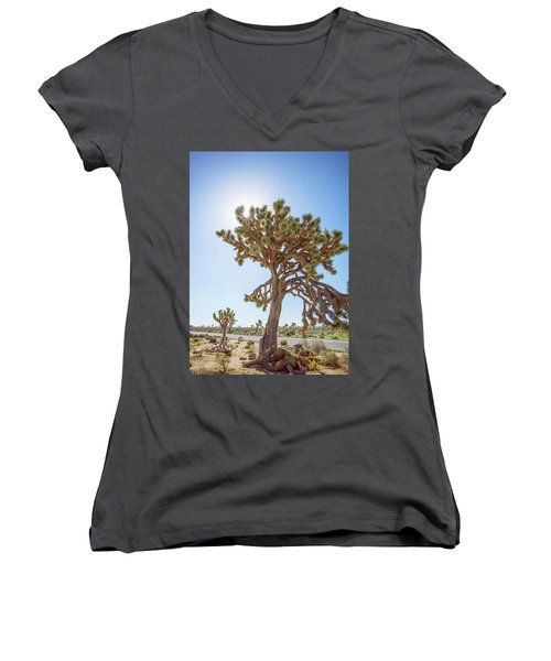 Big Boy Women's V-Neck T-Shirt