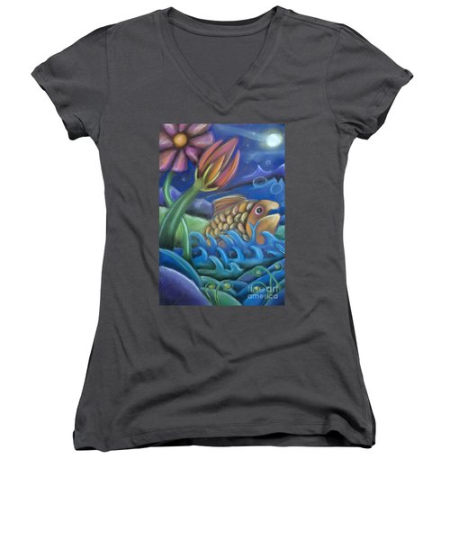 Big Fish Women's V-Neck (Athletic Fit)