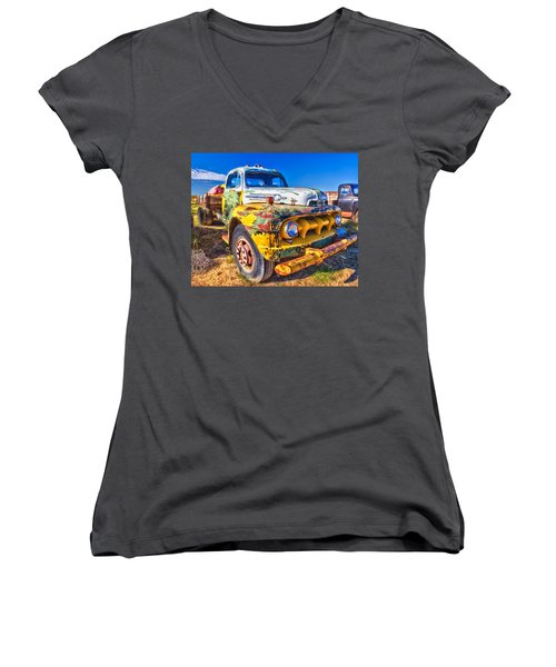 Big Job - Wide Women's V-Neck