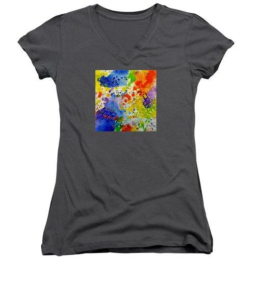Big Risk, Big Life Women's V-Neck T-Shirt