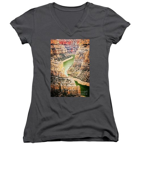 Bighorn River Women's V-Neck