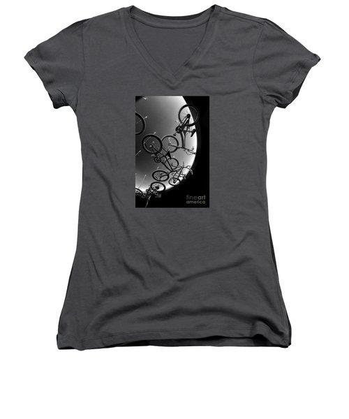 Bike Dreams Women's V-Neck T-Shirt