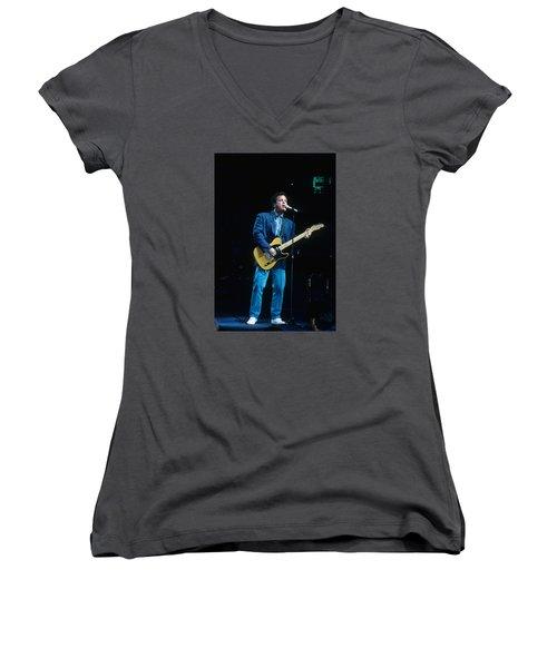 Billy Joel Women's V-Neck