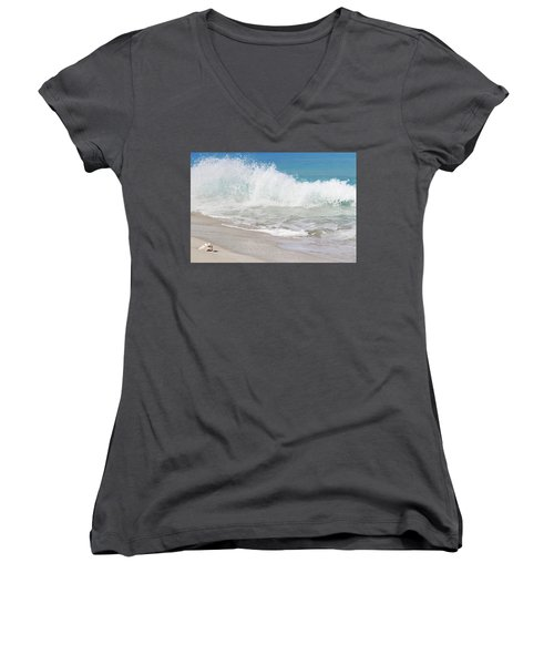 Bimini Wave Sequence 1 Women's V-Neck (Athletic Fit)