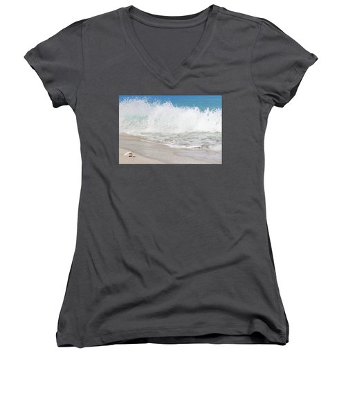 Bimini Wave Sequence 2 Women's V-Neck (Athletic Fit)