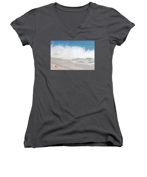 Bimini Wave Sequence 3 Women's V-Neck (Athletic Fit)
