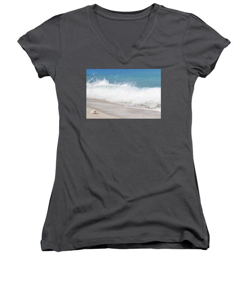 Bimini Wave Sequence 4 Women's V-Neck (Athletic Fit)