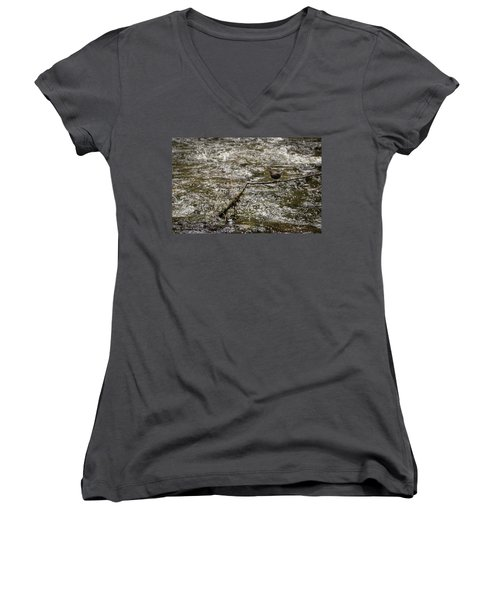 Bird On A River Women's V-Neck