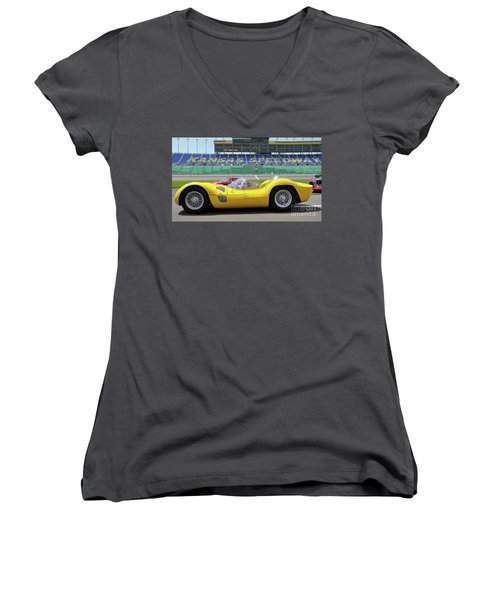 Birdcage Women's V-Neck (Athletic Fit)