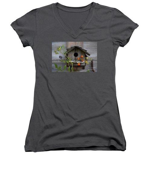 Birdhouse Women's V-Neck T-Shirt