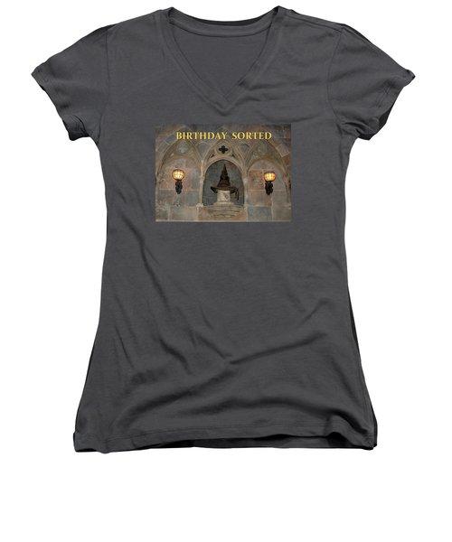 Birthday Sorted Women's V-Neck T-Shirt