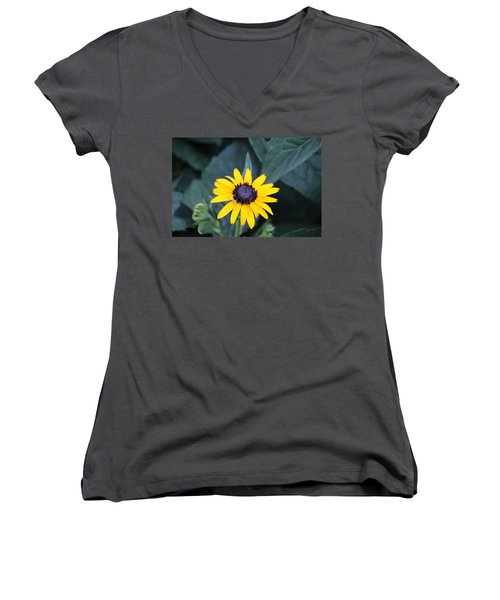 Black Eyed Susan Women's V-Neck T-Shirt