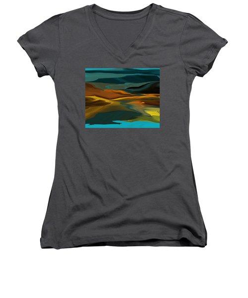 Black Hills Abstract Women's V-Neck