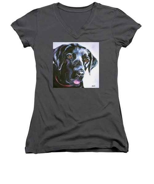 Black Lab No Ordinary Love Women's V-Neck