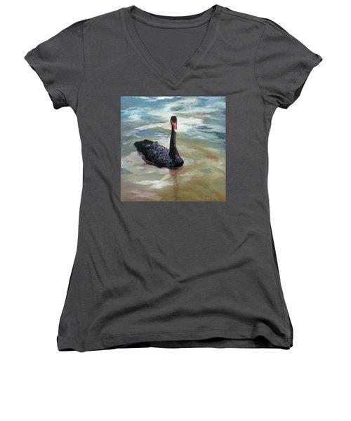 Black Swan Women's V-Neck