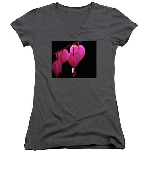Bleeding Heart Women's V-Neck