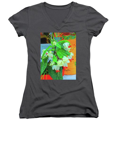 Bleeding Heart II Women's V-Neck