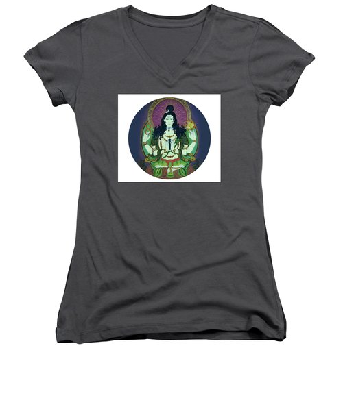 Blessing Shiva Women's V-Neck