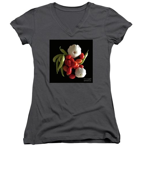 Blessings From The Garden Women's V-Neck (Athletic Fit)