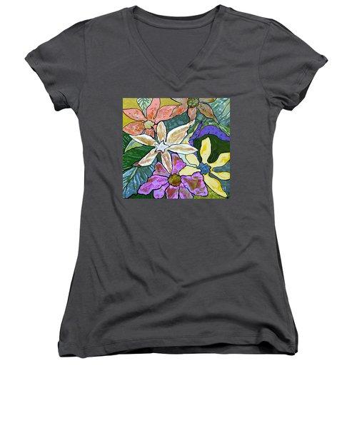Blooms Women's V-Neck