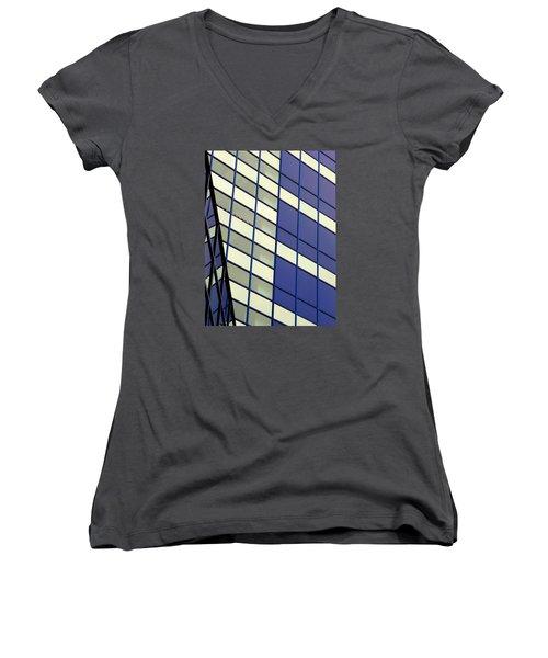 Blue 1114 Women's V-Neck