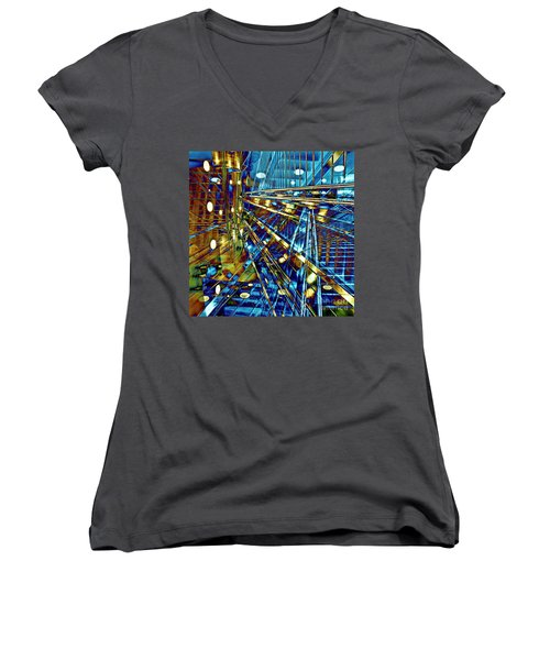 Blue Berlin Sound Women's V-Neck