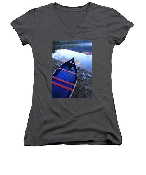 Blue Canoe Women's V-Neck T-Shirt