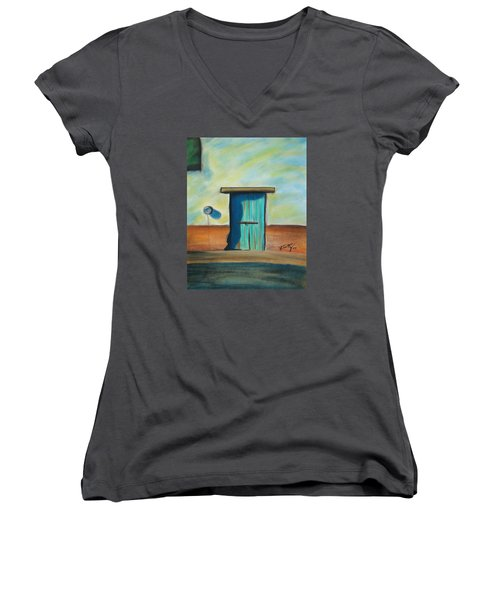 Blue Door Women's V-Neck (Athletic Fit)