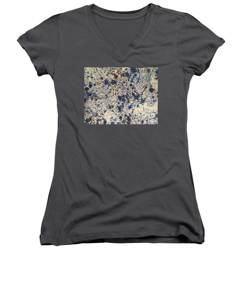 Blue Ecru Women's V-Neck
