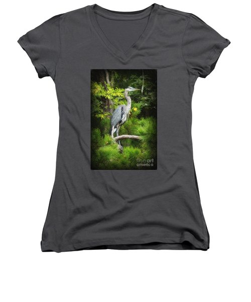 Blue Heron Women's V-Neck (Athletic Fit)