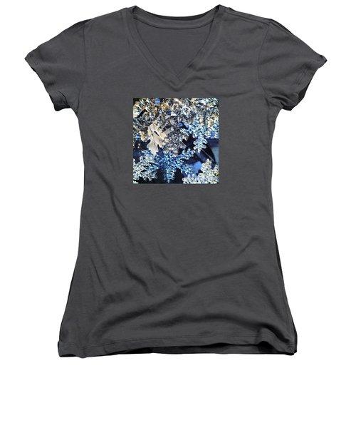 Blue Ice Women's V-Neck