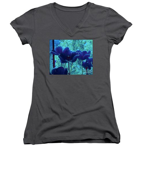 Blue Mood Women's V-Neck T-Shirt