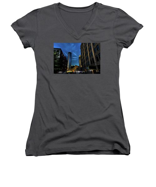 Blue Skies Above Women's V-Neck