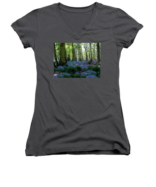 Bluebell Woods Women's V-Neck T-Shirt