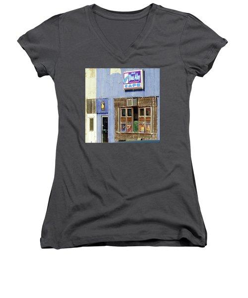 Blues Alley, Clarksdale Women's V-Neck