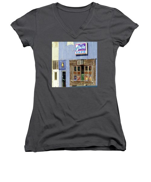 Blues Alley, Clarksdale Women's V-Neck