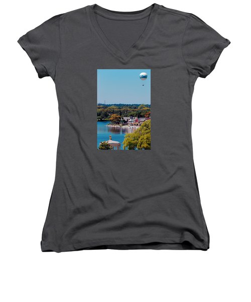 Boat House Row Women's V-Neck