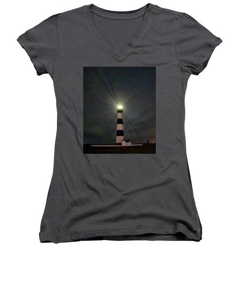 Bodie Beams Women's V-Neck T-Shirt