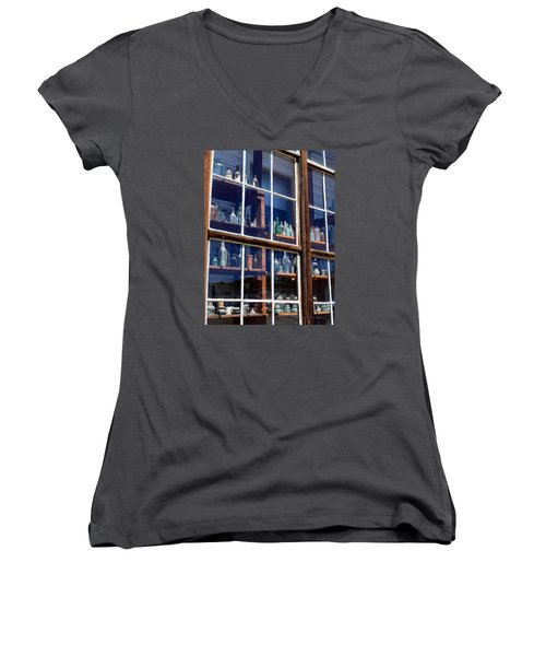 Bodie Bottles #1 Women's V-Neck (Athletic Fit)