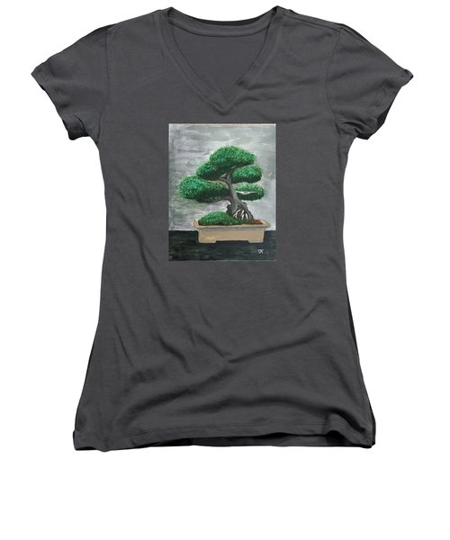 Bonsai #2 Women's V-Neck